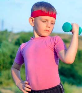 Må børn styrketræne