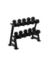 Håndvægte inkl stativ 10-20 kg