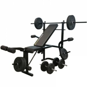 Duke Fitness træningsbænk sæt